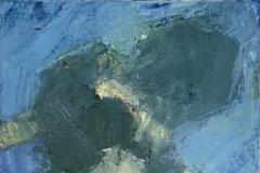 """Reflet 3 - huile sur toile - 33x24cm - (collection particulière)Publication américaine """"Poets and Artists"""" www.poetsandartists.comO&S summer 2009 (Delettre p.132 / 10 pages)"""