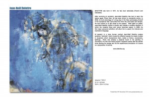PoetsArtists #40 . Figurative arts and jazzy poems . Novembre 2012 - page 21